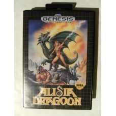 Alisia Dragoon for Sega Mega Drive