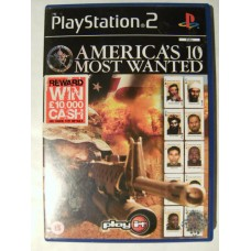 America's 10 Most Wanted for Playstation 2