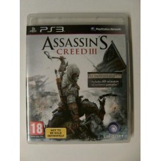 Assassin's Creed III Exclusive Edition for Playstation 3
