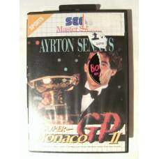 Ayrton Senna's Super Monaco GP II for Sega Master System