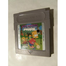Bart Simpsons: Escape From Camp Deadly for Nintendo Gameboy