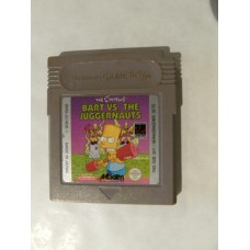 Bart vs The Juggernauts for Nintendo Gameboy