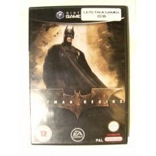 Batman Begins for Nintendo Gamecube