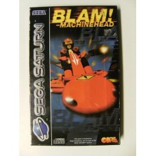 Blam! Machinehead for Sega Saturn