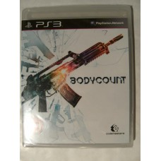 Bodycount for Playstation 3