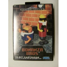 Bonanza Bros for Sega Mega Drive