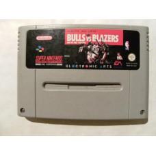 Bulls vs Blazers for Super Nintendo