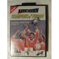 Champions of Europe for Sega Master System