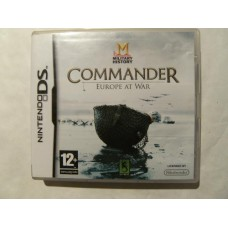 Commander: Europe At War for Nintendo DS
