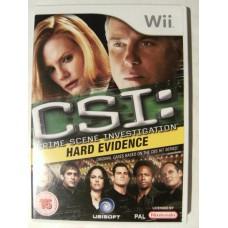 CSI: Hard Evidence for Nintendo Wii