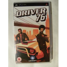 Driver 76 for Playstation Portable