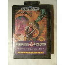 Dungeons & Dragons: Warriors of Eternal Sun* for Sega Mega Drive