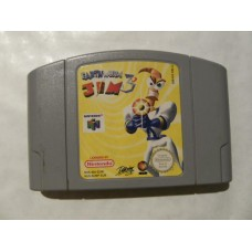 Earth Worm Jim 3D for Nintendo 64