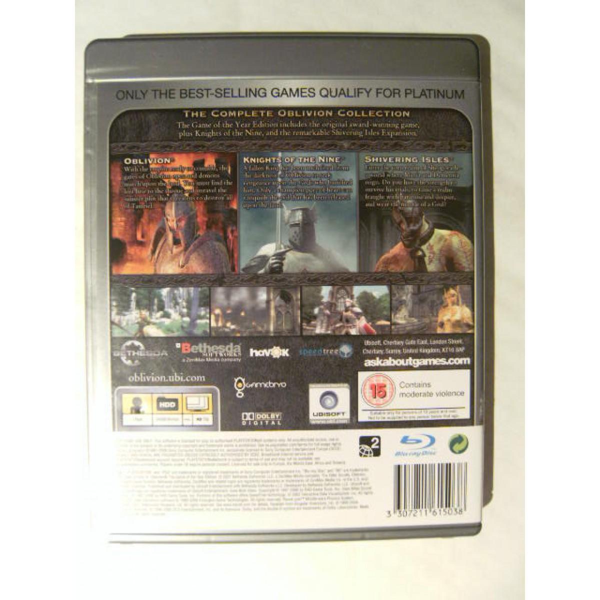 Elder Scrolls IV: Oblivion GOTY for Playstation 3