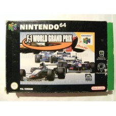 F-1 World Grand Prix for Nintendo 64