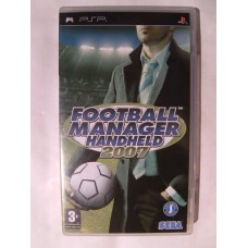 Football Manager Handheld 2007 for Playstation Portable