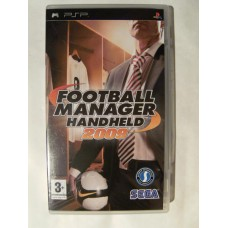 Football Manager Handheld 2009 for Playstation Portable