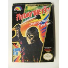 Friday the 13th for Nintendo NES NTSC