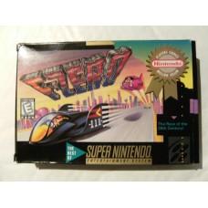 F-Zero NTSC for Super Nintendo