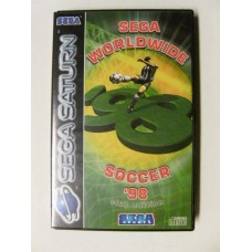 Sega Worldwide Soccer 98 for Sega Saturn