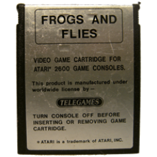 Frogs And Flies for Atari