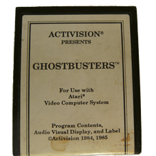 Ghostbusters for Atari