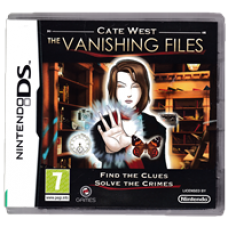 Cate West: The Vanishing Files for Nintendo DS